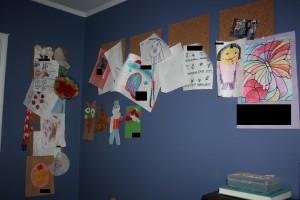 How to Hang Kid Art