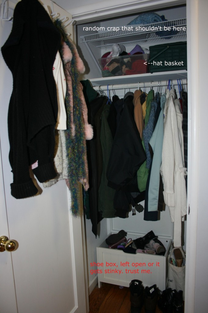 How to Create a Mudroom in the Hall Closet