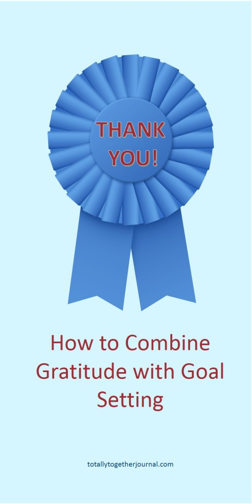 How to you maintain an attitude of gratitude but still continue to strive towards achieving new goals?